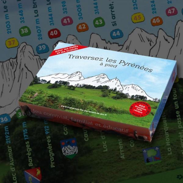 """""""Traversez les Pyrénées à pied"""" le Jeu"""